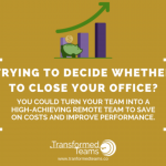 Decided to close your office? Webinar