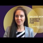 Decent work is worth striving for